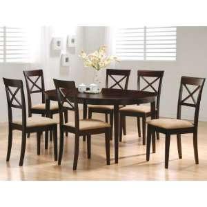 100770SET74 Mix & Match 5 Pc Dining Room Set by: Home