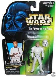 Star Wars Luke Skywalker Stormtrooper Action Figure MOC
