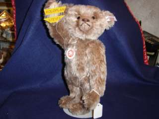 Rare Mohair White Tag Limited Teddy Roloplan Bear with Kite MIB