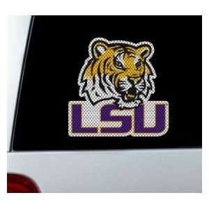 Louisiana State Tigers 12x12 Die Cut Window Film