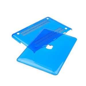 Blue Crystal Hard Case Cover for Apple Macbook 13