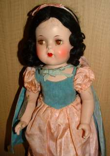 1930S MADAME ALEXANDER SNOW WHITE DOLL WALT DISNEY WITH BOX