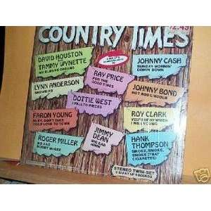 Country Times [Lp Vinyl] Various Artists Music