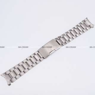 New KS Official Stainless Steel Silver Tone 20MM Watch Band Bracelet