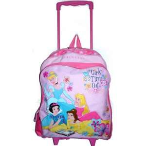 Disney Princesses Pink Large Rolling Backpack ~ Snow White