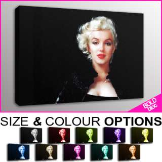 PREMIUM Marilyn Monroe POP ART   10 COLOURS / SIZES