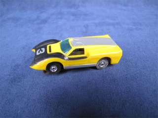 Nice Vintage Slot Car Lamborghini Yellow Black #3
