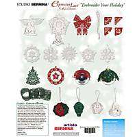 Brother/Babylock Embroidery Machine Card Express Lace EMBROIDER YOUR