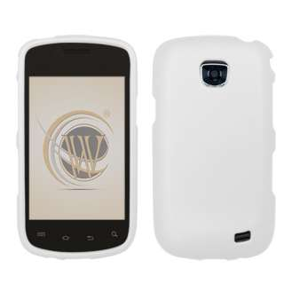 FOR NEW Samsung Illusion VERIZON CELL PHONE WHITE SKIN PROTECTOR HARD