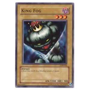YuGiOh Legend of Blue Eyes White Dragon King Fog LOB 036