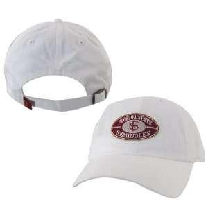 Twins Enterprise Florida State Seminoles White Commander Hat