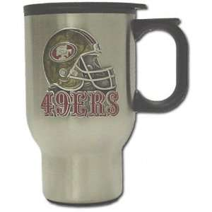 San Francisco 49ers Stainless Steel Travel Mug Sports
