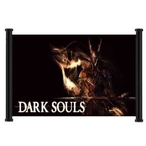 Dark Souls Game Fabric Wall Scroll Poster (28x16) Inches
