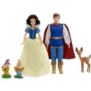 Disney Princess Snow White & Prince Doll Toys & Games
