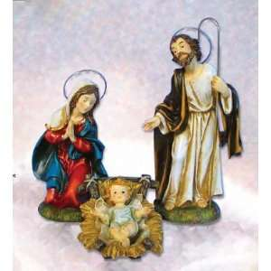 Figurines   Mary, Joseph, and Baby Jesus  Home & Kitchen
