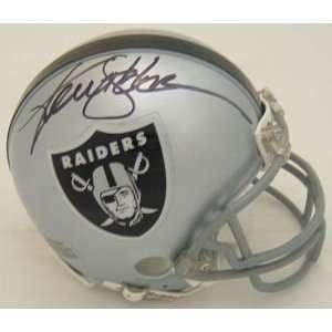 Ken Stabler Autographed/Hand Signed Oakland Raiders Mini Helmet