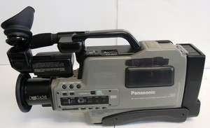 Panasonic AG 196 VHS Pro Reporter Video Camera w/ Case