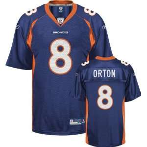 Kyle Orton Denver Broncos NAVY Equipment   Replica NFL