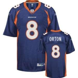 Kyle Orton Denver Broncos NAVY Equipment   Replica NFL