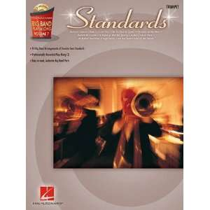 Standards   Trumpet   Big Band Play Along Volume 7   Book