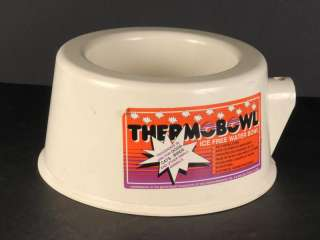 THERMOBOWL Ice Free Heated 3 Quart Dog Pet Water Bowl