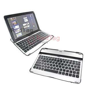 Wireless Keyboard Leather Dock Case for Samsung Galaxy Tab 10.1 GT