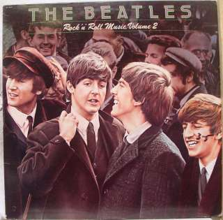 THE BEATLES rock n roll music vol 2 LP VG+ SN 16021