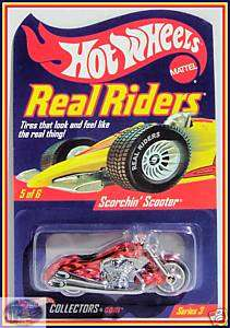Hot Wheels Real Riders Scorchin Scooter
