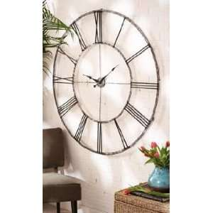 Extra Large Roman Numeral Wall Clock: Home & Kitchen