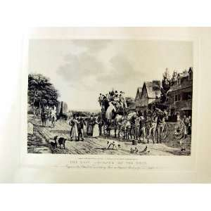 Last Journey On Road Stage Coach 1833 Large Print: Home & Kitchen