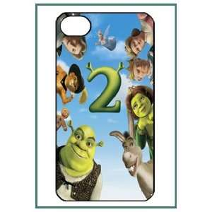 Shrek iPhone 4 iPhone4 Black Designer Hard Case Cover