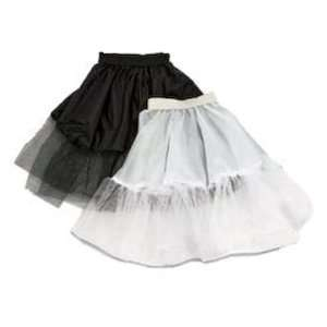 Childs 50s Rock & Roll Black Net Underskirt   17/43cms