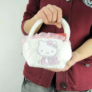 New Hellokitty Cute Hand Tote Cosmetic Bag Makeup Purse Lady Gift Girl