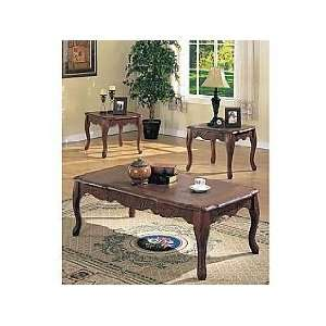 Acme Furniture Coffee End Table 3 piece 07619 set: Home