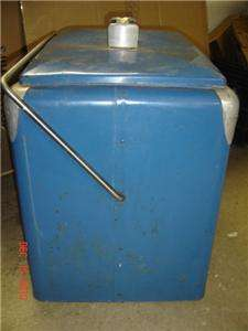 Antique 1950 Pepsi Cola Cooler Ice Chest + Tray Vintage