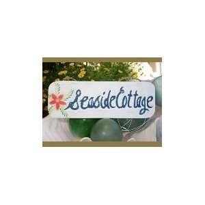 SEASIDE COTTAGE BEACH SIGN 14   COASTAL DECOR