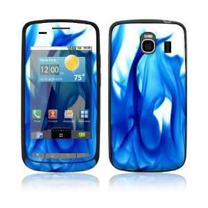 Blue Flame Design Protective Skin Decal Sticker for LG