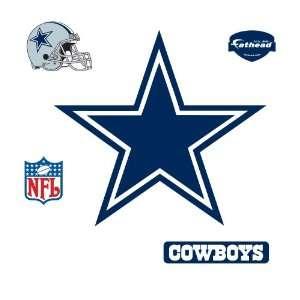 Fathead Dallas Cowboys Logo Wall Decal