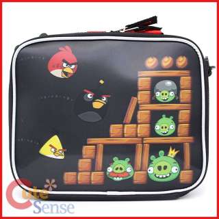 Angry Birds 3D School Lunch Bag Snack Bag Insulated Box Licensed
