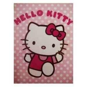 Sherpa Throw Blanket 58 x 78 + Free Hello Kitty TY Beanie Baby Plush