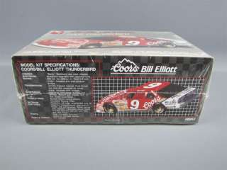 Sealed Nascar Coors Ford Thunderbird Model Kit 1/25 AMT