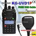 5R UHF/VHF TWO WAY Radio + Dual band Telescope Antenna NA771SF