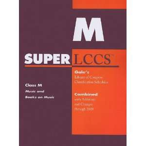 SUPERLCCS 09: Schedule M (SUPERLCCS: Schedule M Music