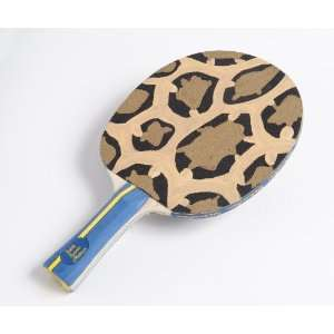 The Leopard Paddle Table Tennis Nation Art Paddle