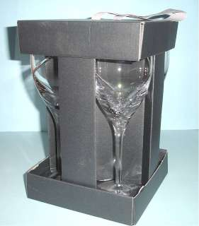 Waterford Siren White Wine Crystal Glasses Set of 4 Gift Boxed New