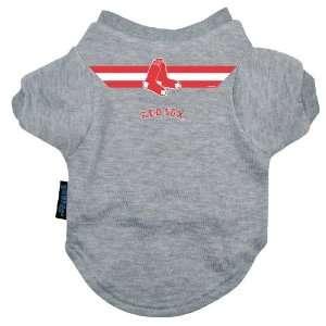 Designer Dog T Shirt   Boston Red Sox Dog T Shirt   Officially