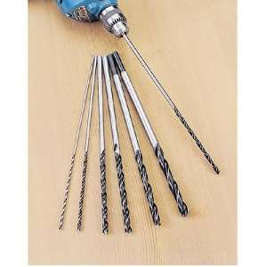 12 Extra Long Brad Point Drill Bits 4 Pocket Hole Jig 1/8 3/16 1/4 5
