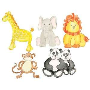 Animal Wall Decals  Peel & Stick Removable Nursery Room Decor Stickers