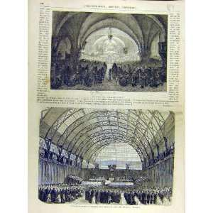 1863 Fine Art Industry Prize Sabot De Noel French Print: