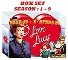 LOVE LUCY ♦ Seasons 1,2,3,4,5,6,7,8 & 9 ( 1 9 ) BOX SET